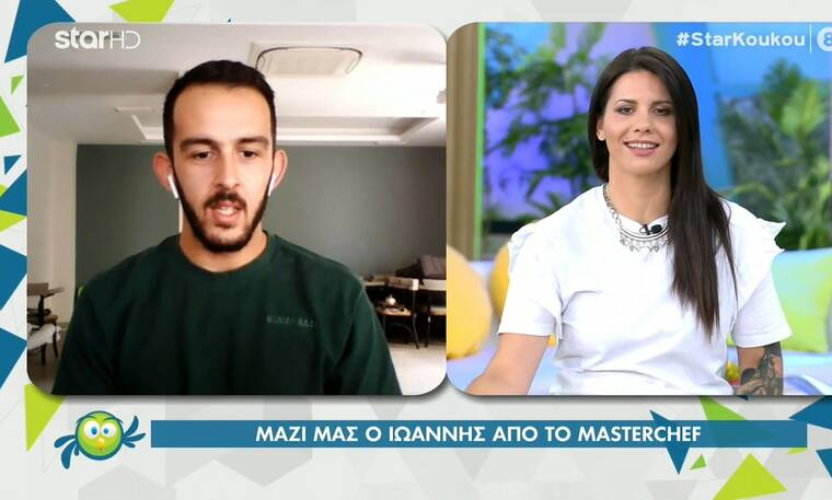 MasterChef: Η συμφιλίωση του Ιωάννη και της Μαρίνας πριν τον τελικό - Το μήνυμα που του έστειλε