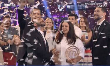 MasterChef τελικός: Χαραλαμπόπουλος: «Η Μαργαρίτα δεν έχει συνειδητοποιήσει ακόμα τη νίκη της!»