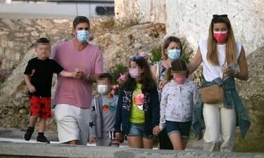 Πατίτσας-Χρουσαλά: Οικογενειακή απόδραση στις Σπέτσες!