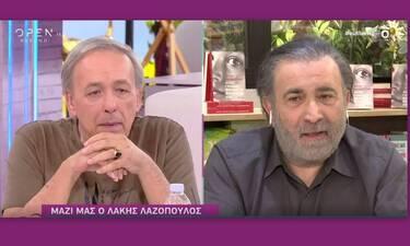 Ευτυχείτε: Βούρκωσε ο Λαζόπουλος με την αποκάλυψη του Μικρούτσικου on air
