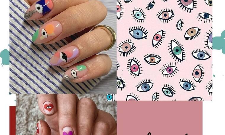 15 σχέδια στα νύχια για να μην σε πιάνει το κακό το μάτι (photos)