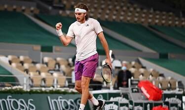 Στέφανος Τσιτσιπάς: Έγραψε... ιστορία! Προκρίθηκε στο μεγάλο τελικό του Roland Garros!