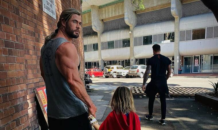 Chris Hemsworth: Το σώμα του είναι το απόλυτο #fitnessgoals