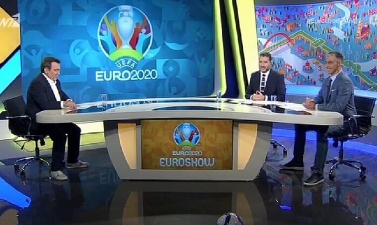Euro 2020: Έκανε πρεμιέρα η νέα αθλητική εκπομπή του ΑΝΤ1 «Euroshow» - Δείτε την έναρξη!