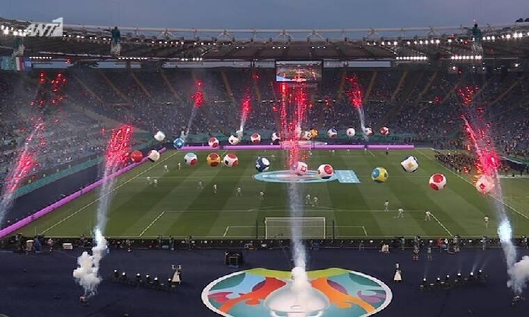 Euro 2020: Πρεμιέρα για τον μεγαλύτερο διαγωνισμό ποδοσφαίρου -Δείτε την τελετή έναρξης!