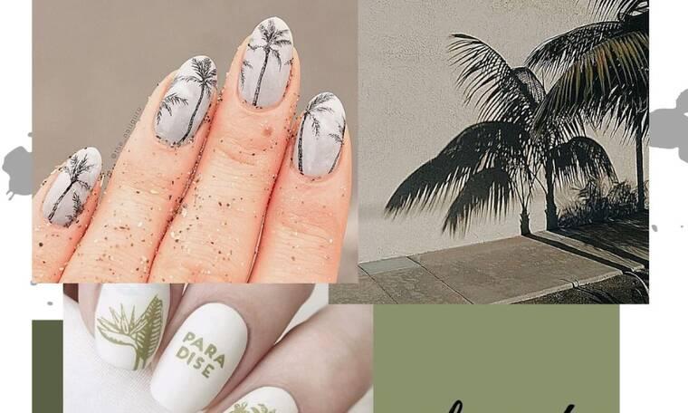 Αυτό το nail art θα το κάνεις όλο το καλοκαίρι και δε θα το βαρεθείς