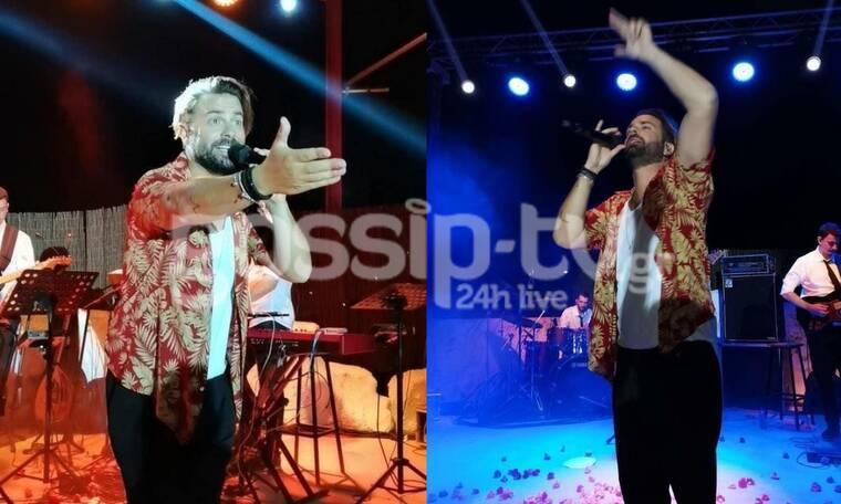 Ηλίας Βρεττός: Έκανε χαμό στη live εμφάνισή του - Ξεσήκωσε τους Κύπριους! (Exclusive pics)