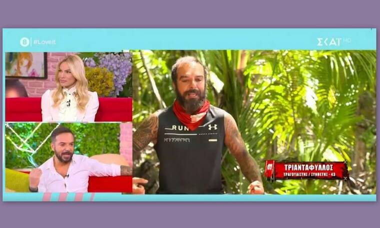 Survivor: Τριαντάφυλλος: Η ατάκα του για τον Σάκη και το τηλεφώνημα του Λιβάνη!