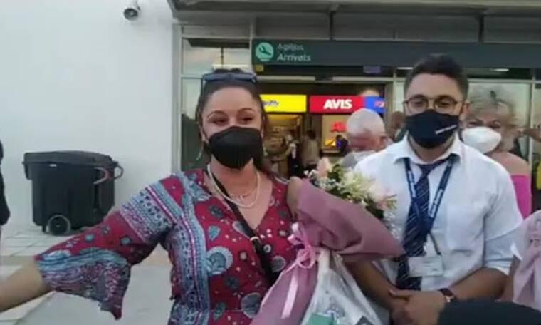 MasterChef: Χαμός στη Μυτιλήνη με την άφιξη της Μαργαρίτας στο νησί! Η θερμή υποδοχή στο αεροδρόμιο!