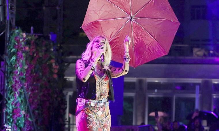 Το συγκινητικό βίντεο της Άννας Βίσση μέσα στη βροχή έγινε viral στο Instagram
