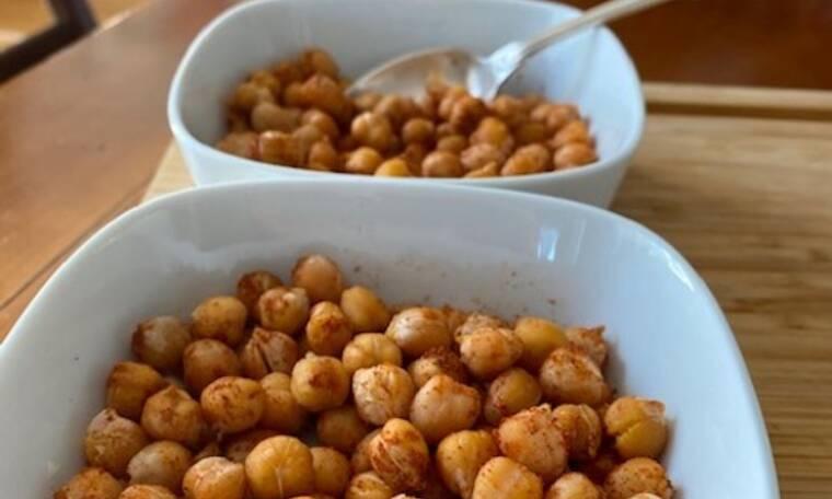 Εύκολη νόστιμη και healthy συνταγή με ρεβύθια και πάπρικα (Από τη Majenco)