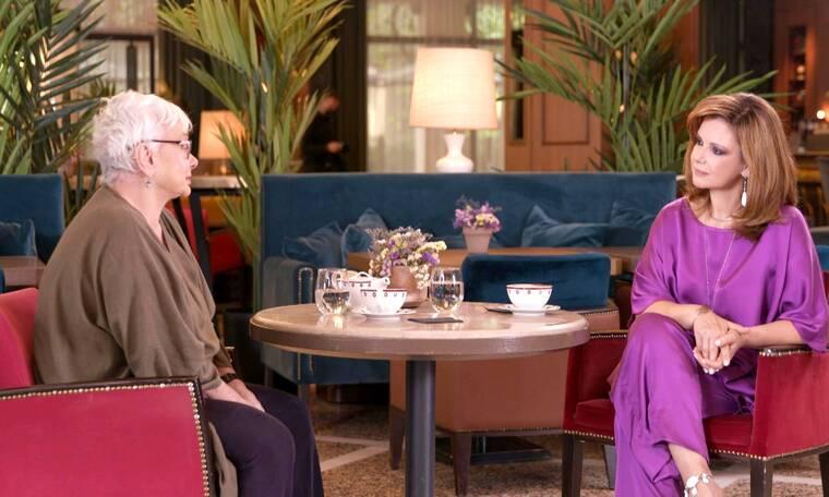 Προσωπικά: Η Ξένια Καλογεροπούλου σε μια σπάνια συνέντευξη στην Έλενα Κατρίτση