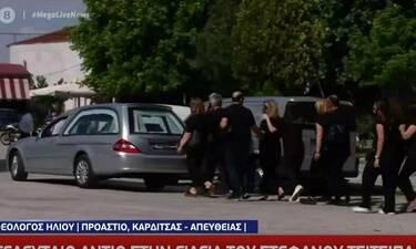 Στέφανος Τσιτσιπάς: Έγινε σήμερα η κηδεία της γιαγιάς του - Απών ο τενίστας