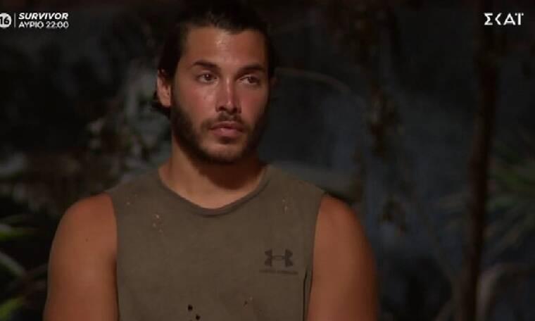 Survivor: O Ασημακόπουλος δεν τη γλίτωσε τελικά από τον Σάκη και είναι ο δεύτερος υποψήφιος