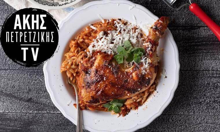 Η απόλυτη συνταγή: Γιουβέτσι κοτόπουλο από τον Άκη Πετρετζίκη