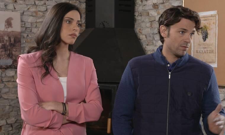 Έλα στη θέση μου: Η Ισμήνη υπόσχεται στη Ρενάτα να μην πει σε κανέναν για την εγκυμοσύνη της