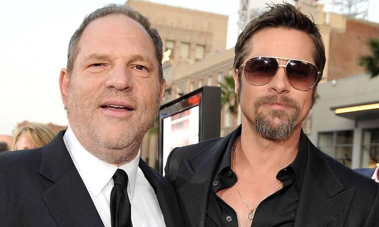 Τι δουλειά έχει ο Brad Pitt με τον Harvey Weinstein;