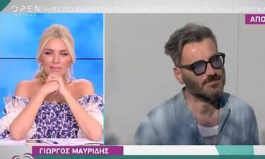 Γιώργος Μαυρίδης: Αυτός θα είναι ο κουμπάρος στο γάμο του! (Video)