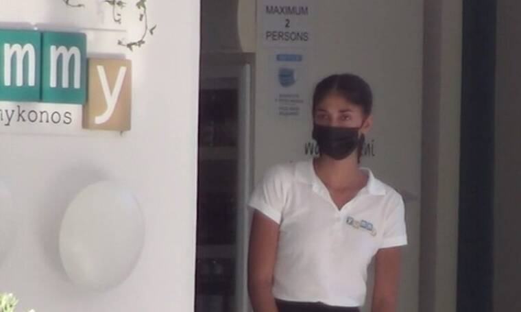 GNTM: Η Παρασκευή Κερασιώτη εργάζεται ως σερβιτόρα στη Μύκονο - Δείτε το video!