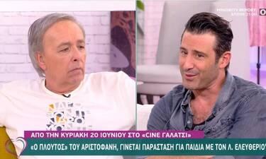 Λευτέρης Ελευθερίου: Το on air παράπονο στον Μικρούτσικο και η απάντηση του παρουσιαστή