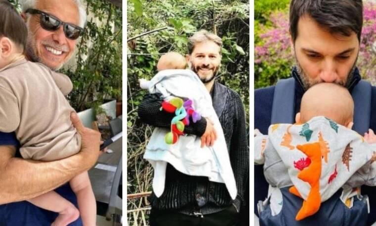 Γιορτή του Πατέρα: Ποιοι γνωστοί Έλληνες μπαμπάδες γιορτάζουν φέτος για 1η φορά