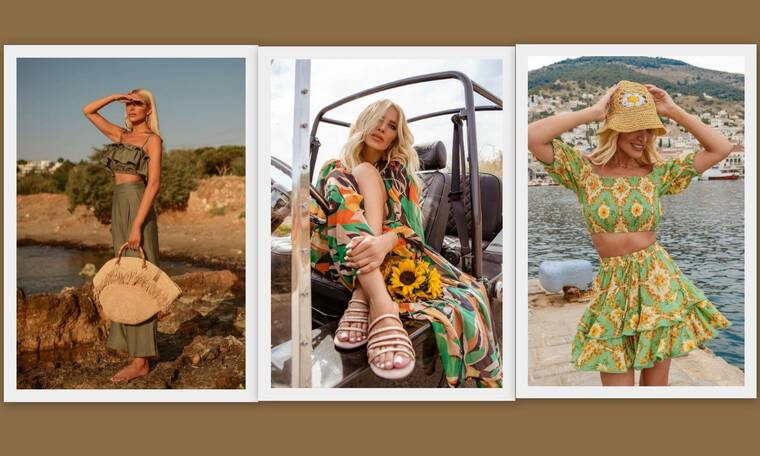 Κατερίνα Καινούργιου: Οι καλοκαιρινές της εμφανίσεις, οδηγός μόδας για τις διακοπές μας