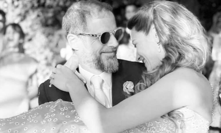 Αντώνης Λαιμός – Μαρίκα Αράπογλου: Φωτογραφίες από τον λαμπερό γάμο τους στο Πάπιγκο