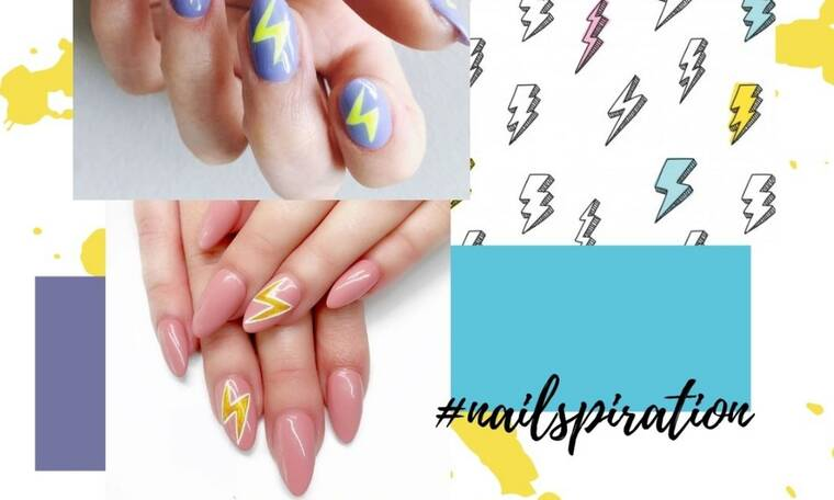 Sunday nailspiration: Δες 17 manicure με κεραυνούς για να διαλέξεις το αγαπημένο σου