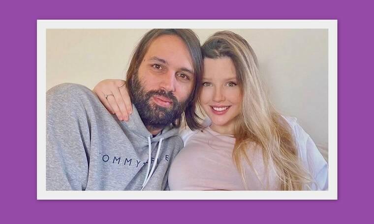 Κωνσταντίνα Κομμάτα - Γιώργος Σαμαράς: Δες την κόρη τους ένα μήνα μετά τη γέννησή της (Photos)