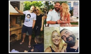 Γρηγόρης Γκουντάρας: «Λιώσαμε» με την τρυφερή ανάρτηση για την σύζυγό του Ναταλί Κάκκαβα