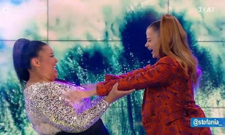 Καλό μεσημεράκι: Μύρισε... Eurovision! Η Destiny της Μάλτας και η Stefania στο πλατό της εκπομπής!
