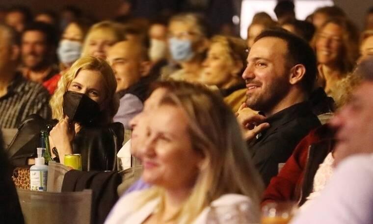 Νάντια Μπουλέ - Γιώργος Ισαάκ: Στο θέατρο Άλσος λίγο πριν γίνουν γονείς