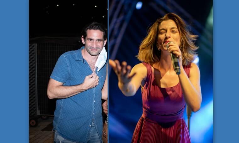 Η Μαρίζα Ρίζου έδωσε συναυλία και ο Οδυσσέας Παπασπηλιόπουλος δεν πήρε τα μάτια του από πάνω της