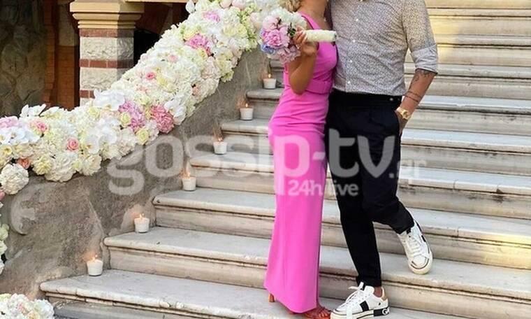 Γνωστό ζευγάρι παντρεύτηκε χθες στη Θεσσαλονίκη και έχουμε τις πρώτες φωτογραφίες (pics)