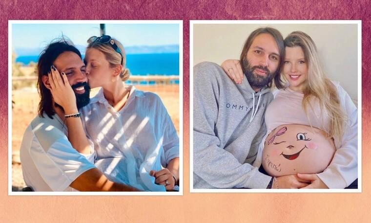 Κωνσταντίνα Κομμάτα: Στην παραλία με την νεογέννητη κόρη της - Θα «λιώσεις» με τη φωτό τους