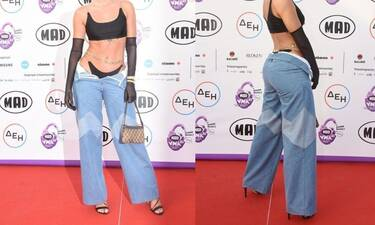 Mad Video Music Awards 2021: Πρώην παίκτρια του Survivor πήγε στο event ντυμένη έτσι! Μείναμε άφωνοι