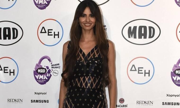 Mad Video Music Awards 2021: Η πρώτη δημόσια εμφάνιση της Παπαγεωργίου μετά τον χωρισμό από τον Snik