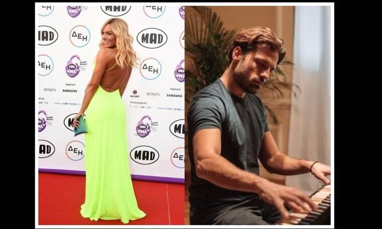 Mad Video Music Awards 2021: Η Μαλέσκου βράβευσε τον Αργυρό μετά τις φήμες που τους ήθελαν ζευγάρι