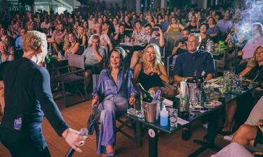 Θέατρο Άλσος: Γιάννα Αγγελοπούλου και Μαριάννα Λάτση μαζί σε βραδινή έξοδο