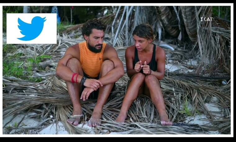 Survivor: Σάκης και Μαριαλένα «έθαψαν» τους Amigos και το Twitter «πήρε φωτιά»