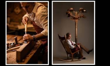 Στέλιος Ρόκκος: Παρουσιάζει έργα Τέχνης από ξύλο στη Μύκονο