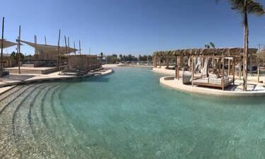Κι όμως η μεγαλύτερη «θαλασσινή» πισίνα βρίσκεται στην Ελλάδα!