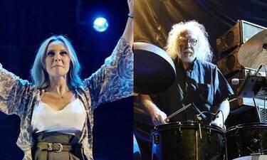 Η Πέγκυ Ζήνα και ο Νίκος Τουλιάτος αποθεώθηκαν στην συναυλία τους στην Τεχνόπολη