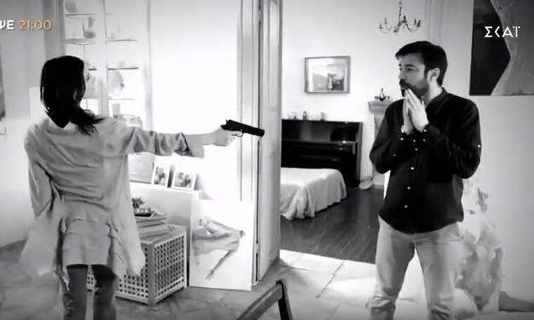8 Λέξεις: Συγκλονιστικό το προτελευταίο επεισόδιο – Πυροβολεί η Ηλιάνα τον Οδυσσέα (Video)