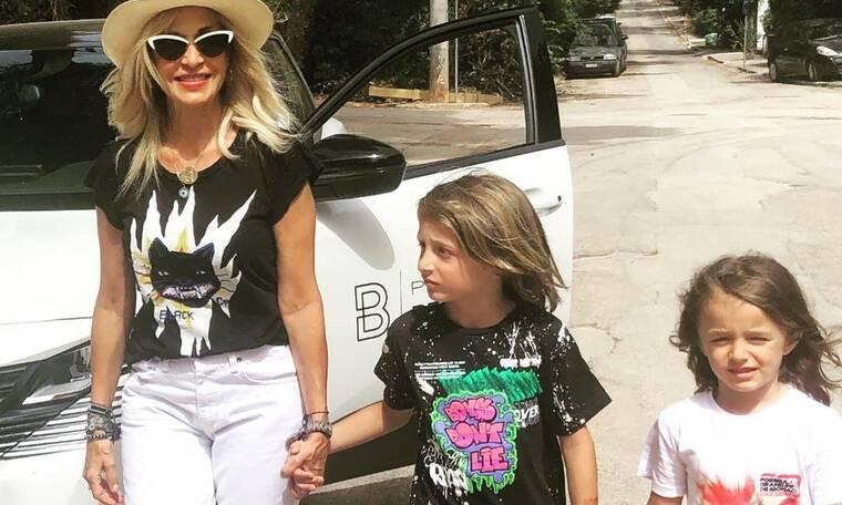 Άννα Βίσση: Τρισευτυχισμένη γιαγιά για τους εγγονούς της! Πώς σχολίασε τις φωτό τους η Βανδή;