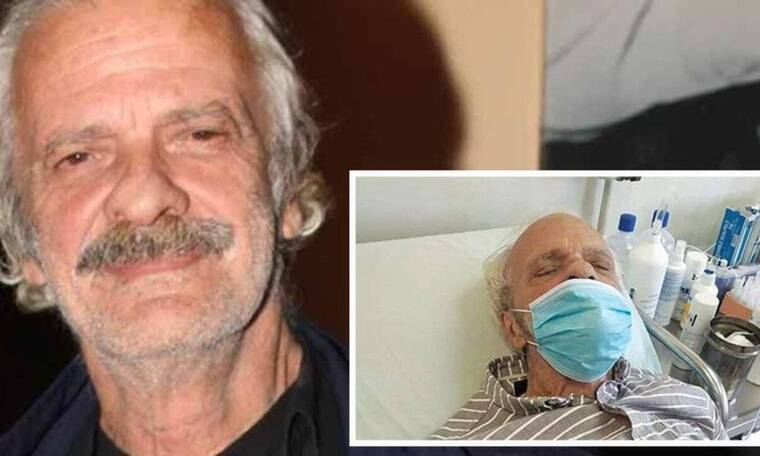 Σπύρος Φωκάς: Καταβεβλημένος ο ηθοποιός - Η φωτό από το σπίτι του μετά την περιπέτεια της υγείας του