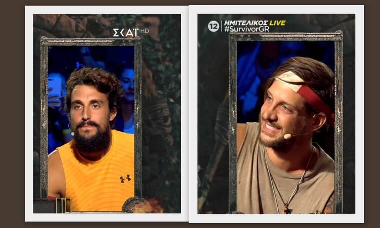 Survivor Ημιτελικός: Σάκης Κατσούλης και Ηλίας Μπόγδανος στον μεγάλο τελικό!