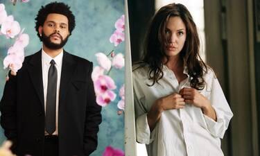 Τι συμβαίνει ανάμεσα στη 46χρονη Angelina Jolie και τον 31χρονο Weeknd;