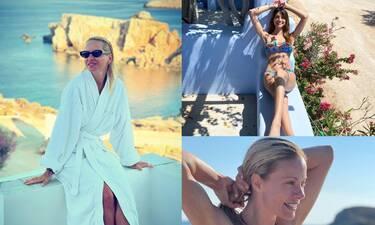 Το καλοκαίρι για τους Έλληνες Celebrities ξεκίνησε! Δείτε τις πρώτες τους φωτογραφίες!