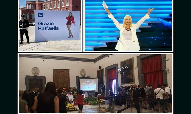 Ραφαέλα Καρά: Χιλιάδες Ιταλοί στους δρόμους για να την αποχαιρετήσουν! Σε λαϊκό προσκύνημα η σορός